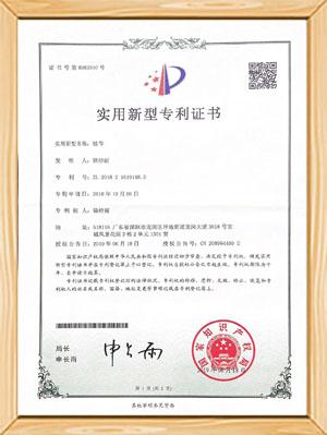 弗莱克斯-实用新型专利证书
